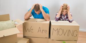 Những sai lầm thường gặp khi chuyển nhà