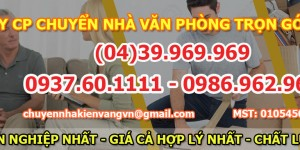 Chương trình khuyến mại khi chuyển nhà tại Thanh Xuân Bắc