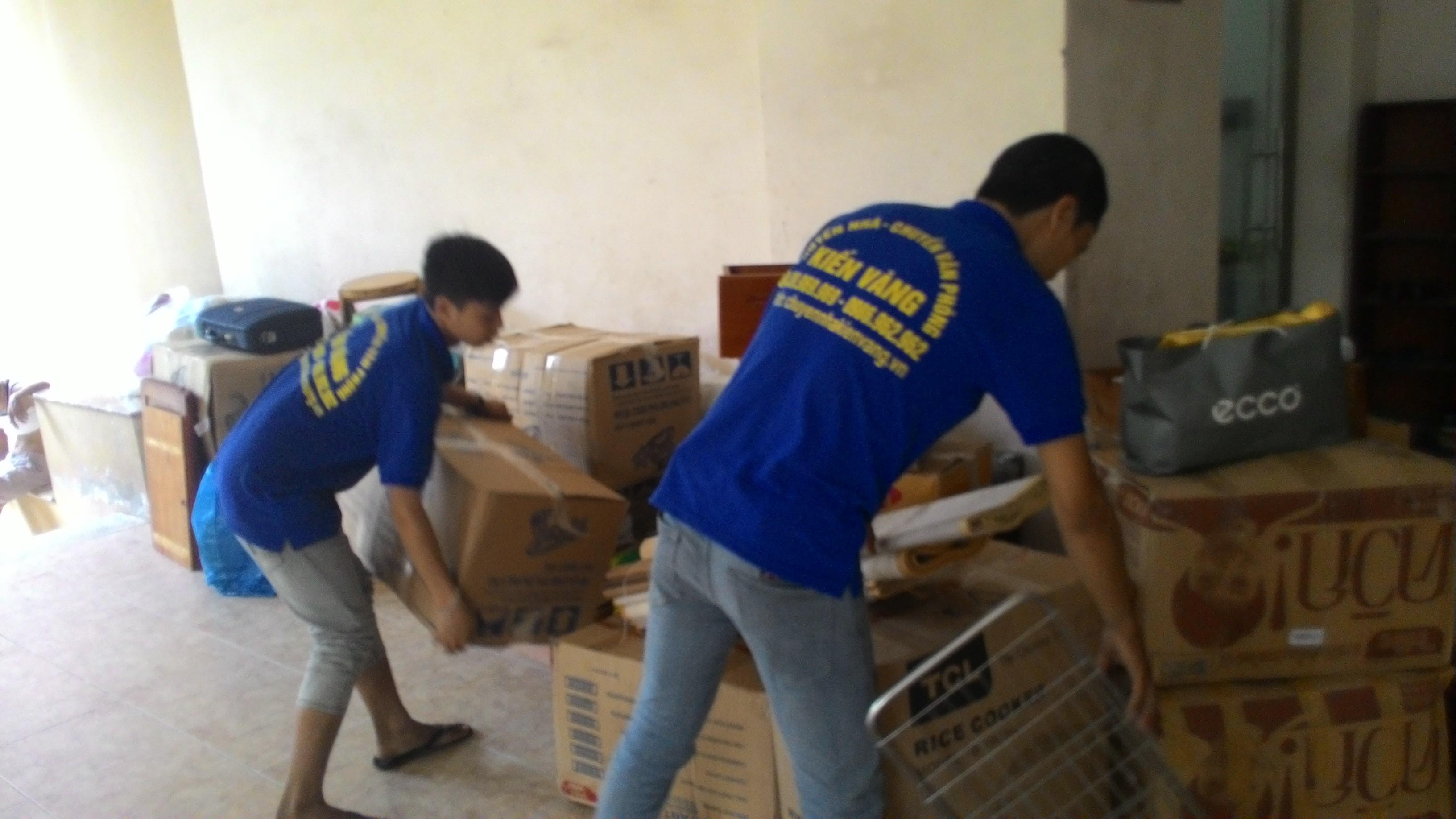 Dịch vụ chuyển nhà tại Thanh Xuân Trung của Kiến Vàng