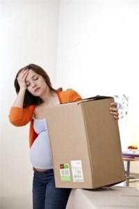 nên hay không chuyển nhà khi mang bầu