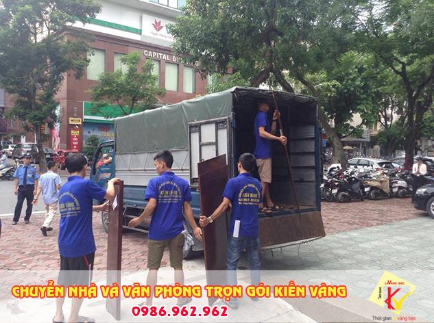 Chuyển nhà tại ô chợ dừa chuyên nghiệp của Kiến Vàng