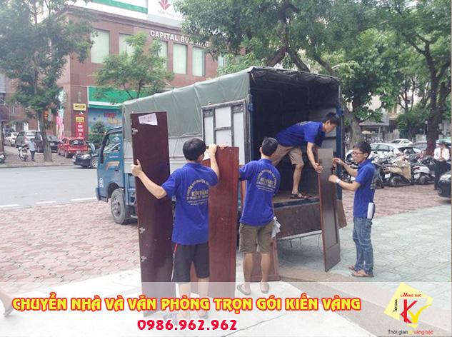 Chuyển nhà quận Hoàn Kiếm chuyên nghiệp giá hợp lý