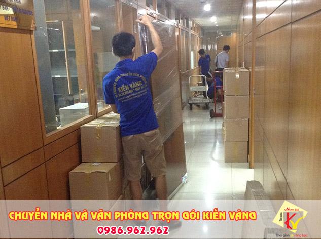 Dịch vụ chuyển văn phòng trọn gói Kiến Vàng