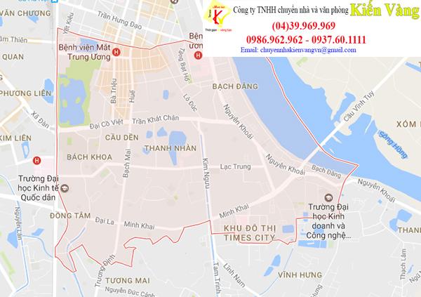 Dịch vụ chuyển văn phòng quận Hai Bà Trưng - Kiến Vàng chuyển nhà