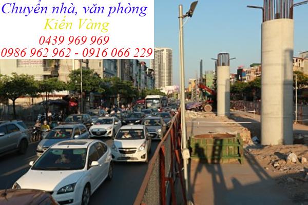 Dịch vụ chuyển nhà, văn phòng tại phường Mai Dịch, quận Cầu Giấy-