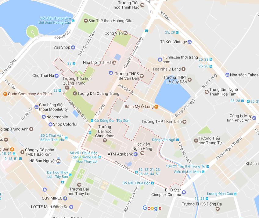 Chất lượng dịch vụ chuyển nhà tại phường Quang Trung, ĐỐng Đa