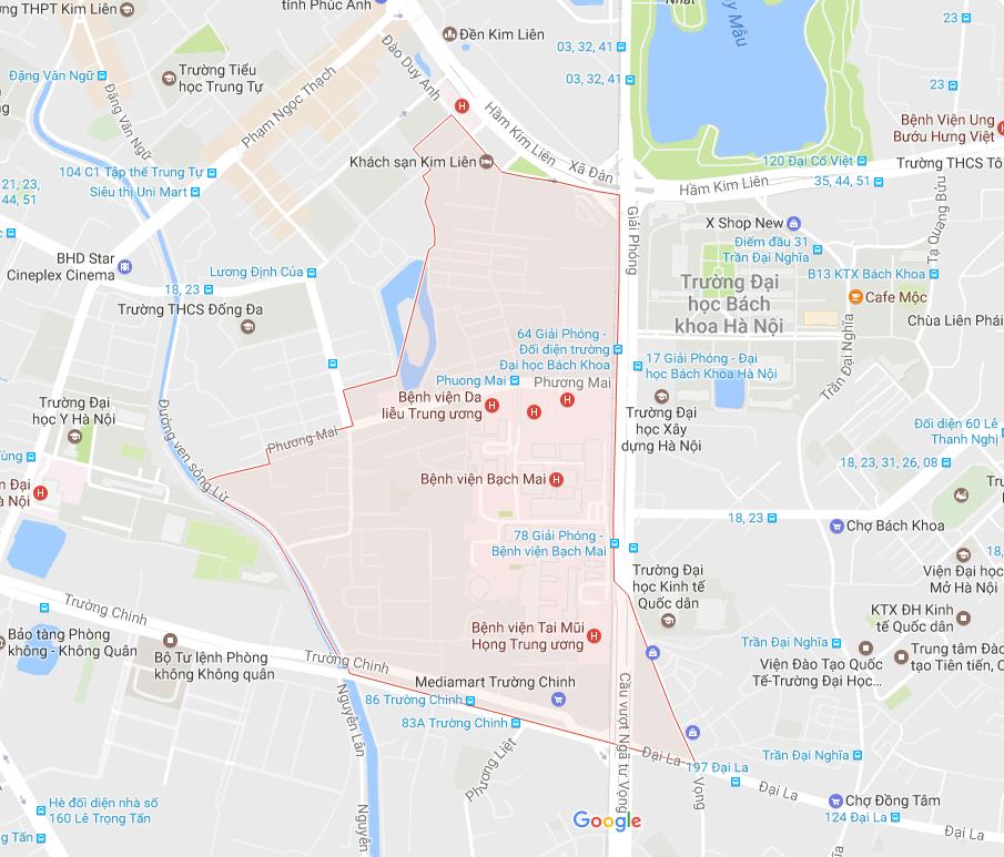 Thực trạng chuyển nhà tại phường Phương Mai
