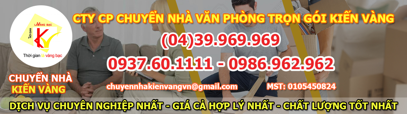 Dịch vụ chuyển nhà tại Thanh Xuân Bắc của Kiến Vàng