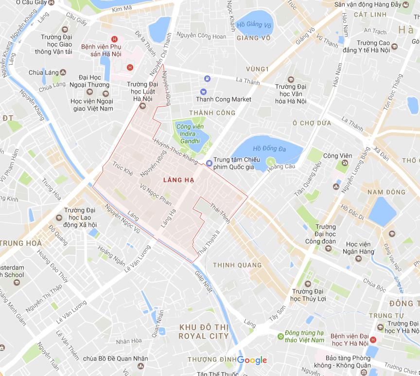 Chuyển nhà tại Láng Hạ - Thị trường trọng điểm của công ty dịch vụ