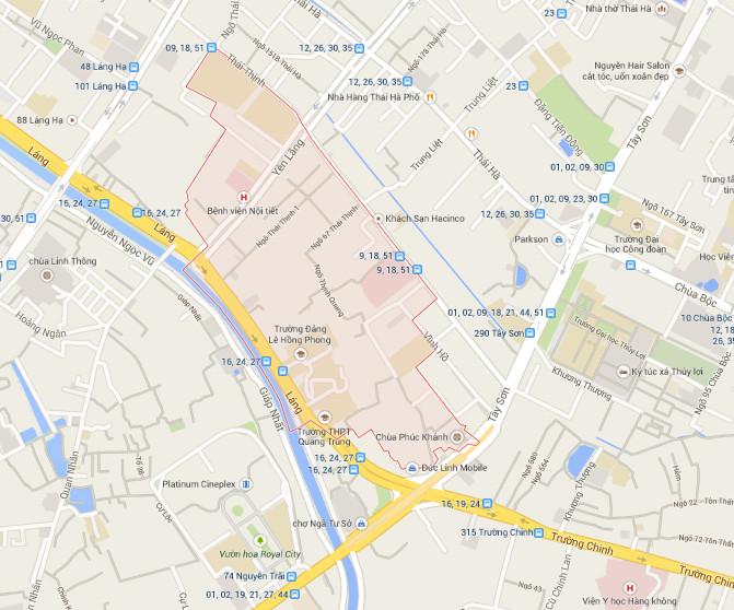 Dịch vụ chuyển nhà tại Thịnh Quang, Đống Đa, Hà Nội