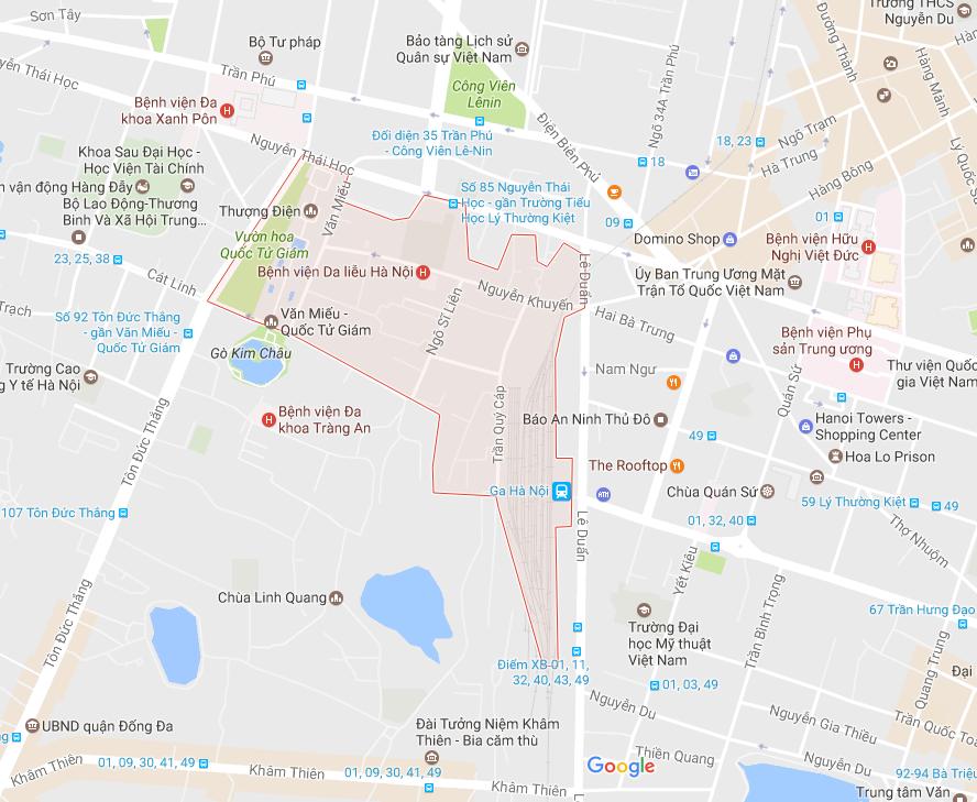 """Sự thật việc """"phàn nàn"""" về dịch vụ chuyển nhà tại phường Văn Miếu"""