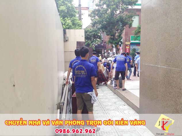 Dịch vụ chuyển nhà tại phường văn miếu chuyên nghiệp của Kiến Vàng