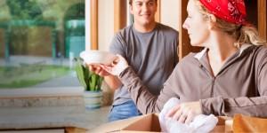 Đóng gói và lắp đặt những đồ dùng của gia đình bạn