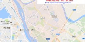 Dịch vụ chuyển văn phòng quận Long Biên