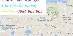 Nên chọn dịch vụ chuyển nhà tại quận Ba Đình của Kiến Vàng