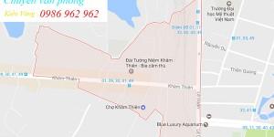 Chuyển nhà, văn phòng trọn gói tại phường Khâm Thiên, Đống Đa