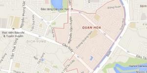Dịch vụ chuyển nhà tại Quan Hoa, Cầu Giấy